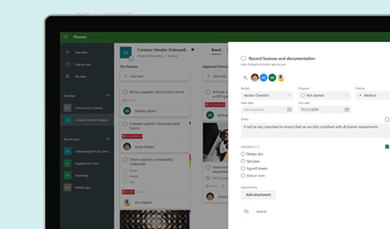 Microsoft Planner. Streamline teamwork and get more done